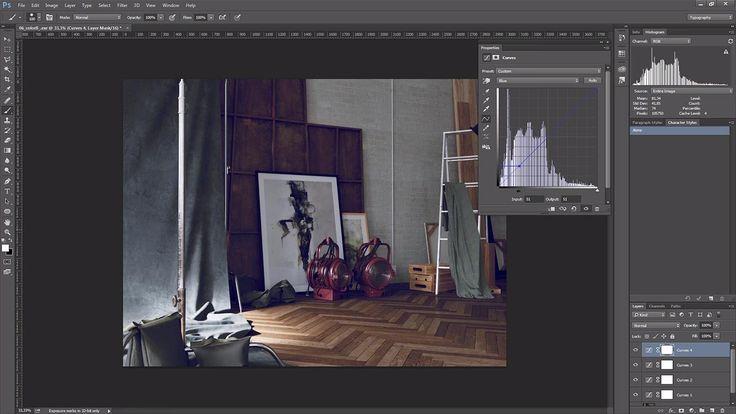 Adán Martín publica esta semana un tutorial con una pequeña introducción al uso y ajuste de curvas para postproducción en Photoshop.