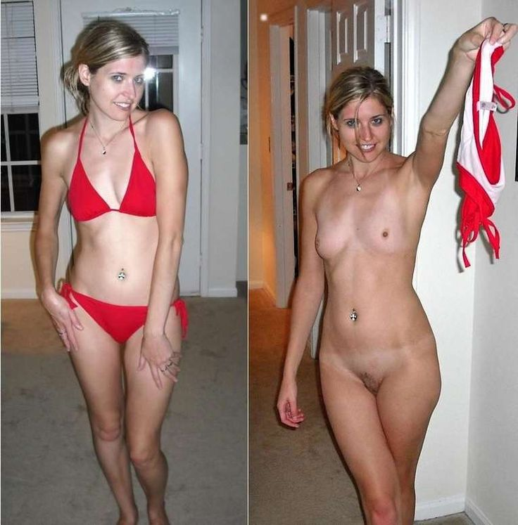 Something Bikini before and after nude