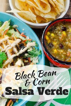 I love topping my salads with a delicious salsa and this Black Bean & Corn Salsa Verde is perfect to top @Eat Smart Veggies Southwest Salad Kit! AD #EatSmartVeggies, #IC via @Pinkcakeplate