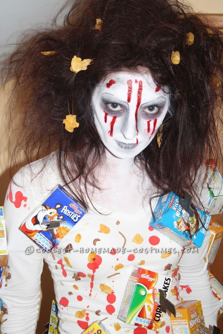 Scary Cereal Killer Halloween Costume