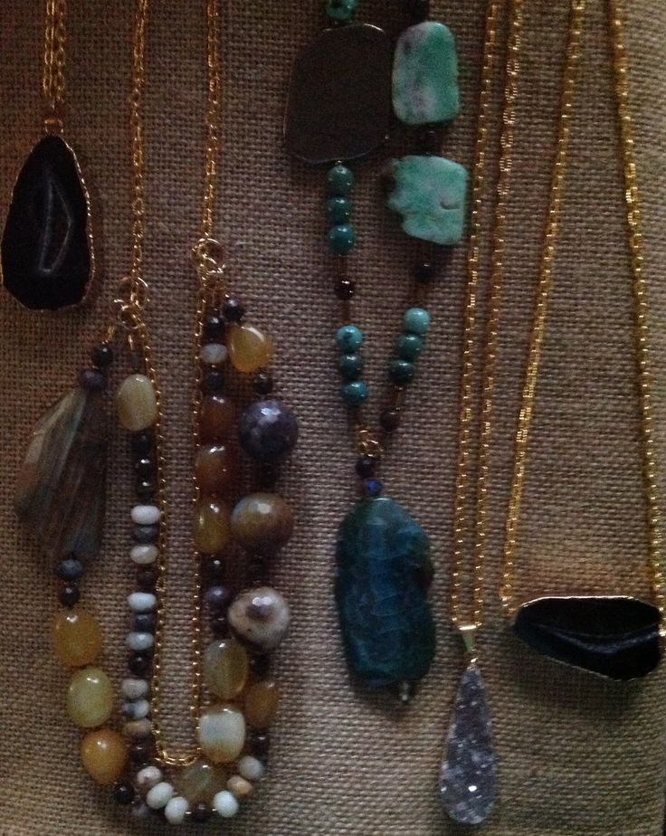 Gold jewelry for my December 2014 show.
