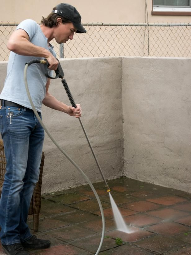 How To Clean Brick And Concrete With A Pressure Washer