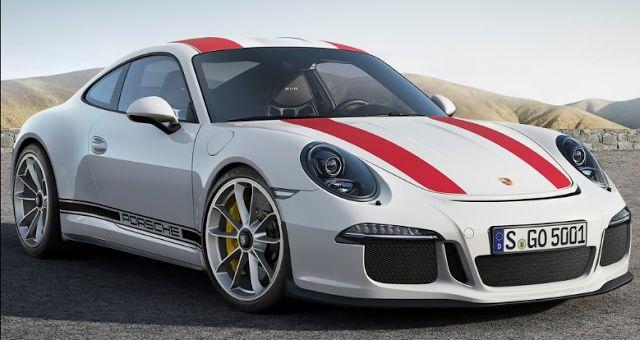2017 Porsche 911 R Design