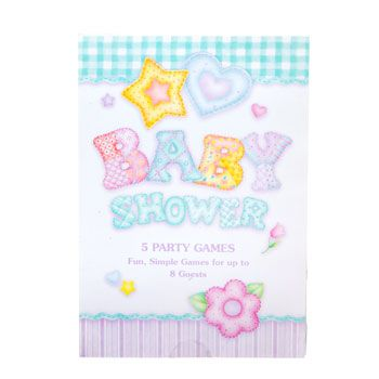 Bulk Baby Shower Party Game Books At DollarTree.com