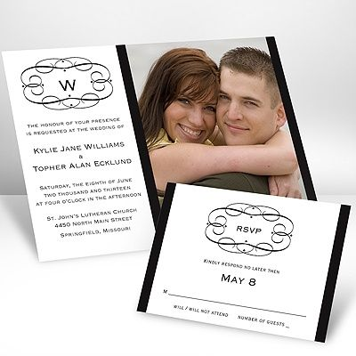invite9: Invite, Photos, Photo Invitations, Wedding Ideas, Frames, Invitations Ideas, Swirls