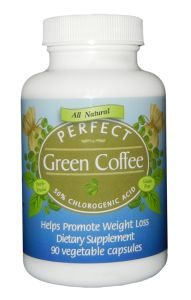 USA Made Perfect Green Coffee is a 100% Pure Green Coffee Bean Extract and contains 50% Chlorogenic Acid. Backed by a 100% Money-Back Guarantee it's the very best value green coffee supplement. Click on the image above to get more info or go here to order http://healthfoodpost.com/green-coffee-extract/buy-green-coffee-extract Save 25% to 35% by ordering 3 bottles or more. Go here for info http://healthfoodpost.com/green-coffee-extract