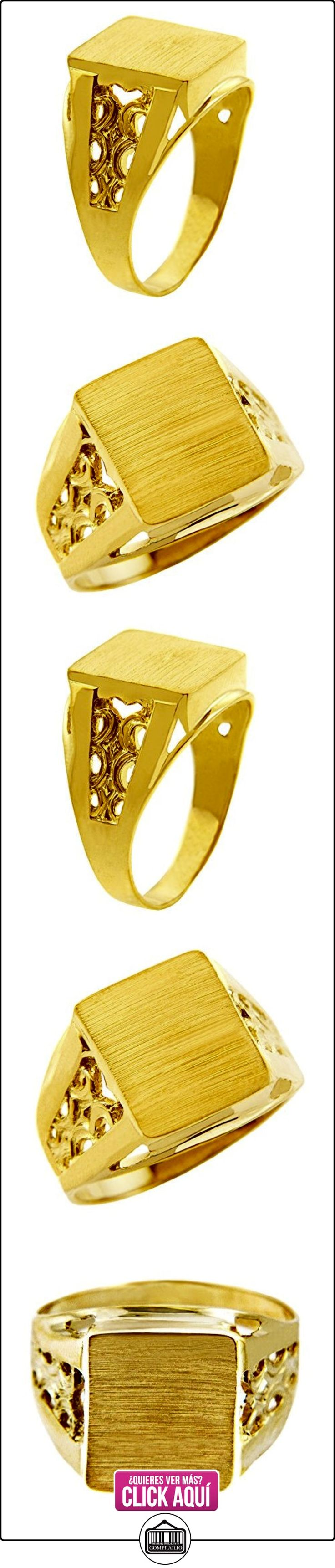 Pequeños Tesoros - Anillos Hombres Alianza De Boda 10 Kt Oro 471/1000 Sortija De sello  ✿ Joyas para hombres especiales - lujo ✿ ▬► Ver oferta: https://comprar.io/goto/B01277W1OG