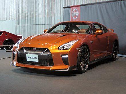Nissan GT-R - Mondial de l'Automobile de Paris 2016 - 003 - Nissan GT-R - Wikipedia