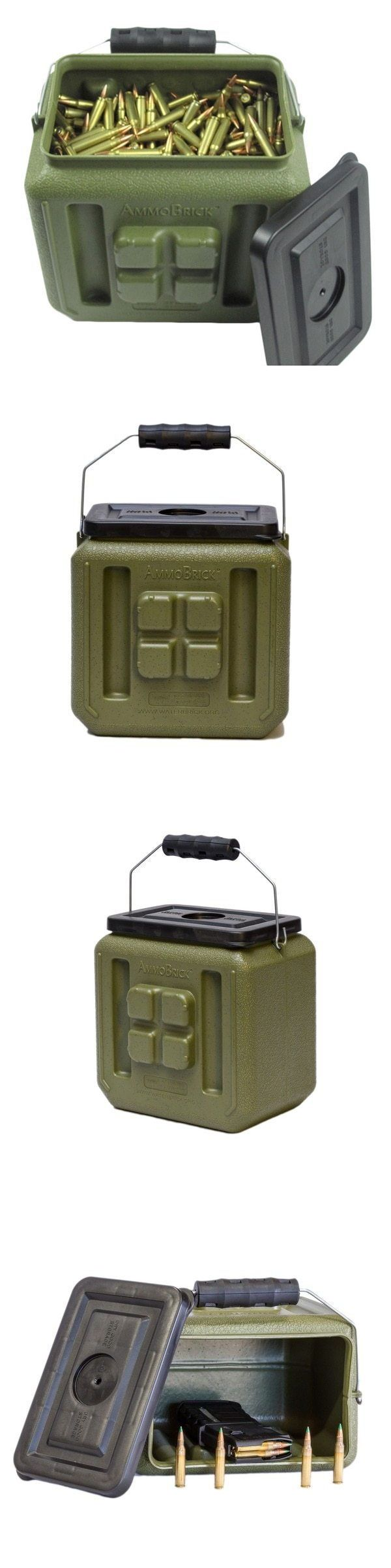 Ammunition Cases and Cans 177886: Waterbrick Ammobrick 1.6 Gal. Stackable Ammo Storage Container Waterproof Box -> BUY IT NOW ONLY: $33.99 on eBay!