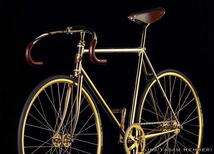 Altın ve Swarovski Taşlı Bisiklet   Lüks Yaşam Rehberi