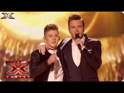 Nicholas McDonald sings Flying Without Wings with Shane Filan - Live Week 10 - The X Factor 2013 - YouTube
