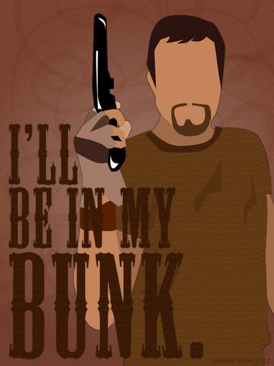 The Man They Call Jayne Art Print by Melody G. Stone (via Society6).   The quotes for the other characters are pretty good too :)