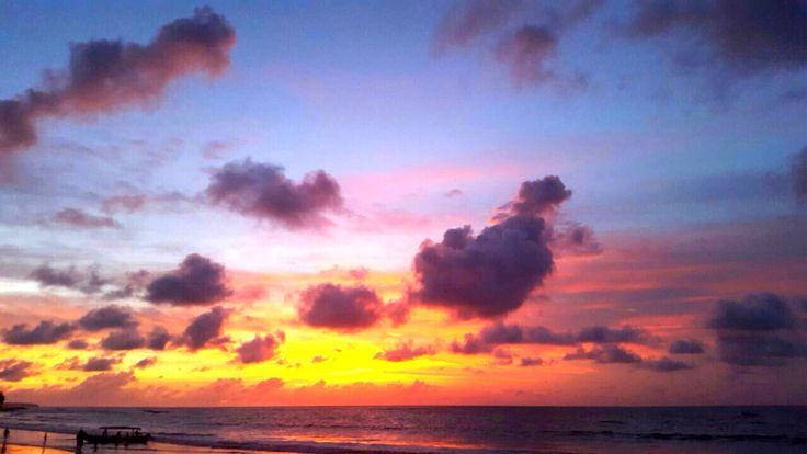 #Beautiful #Sunset @Kuta #beach #Bali 29/12/14