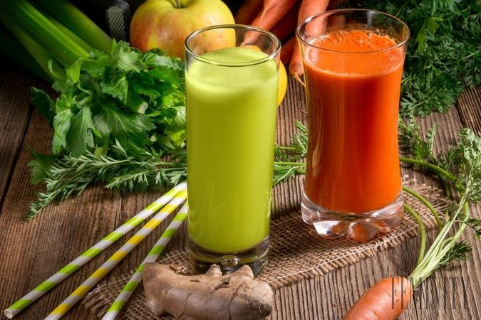Šťavy zo zeleniny majú množstvo benefitov