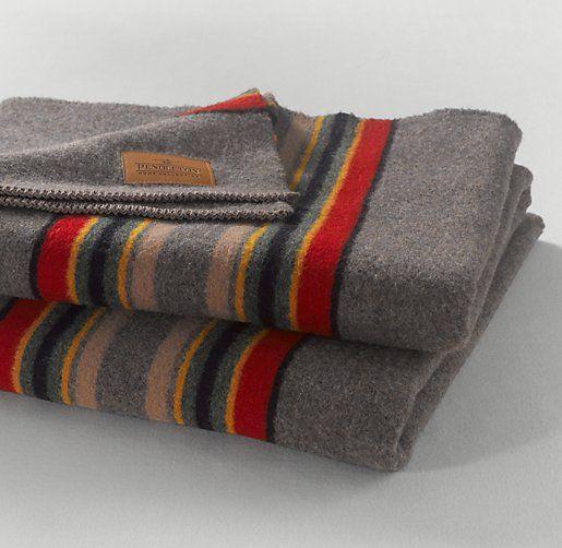 Restoration Hardware Sofa Throws: Classic Camp Blanket