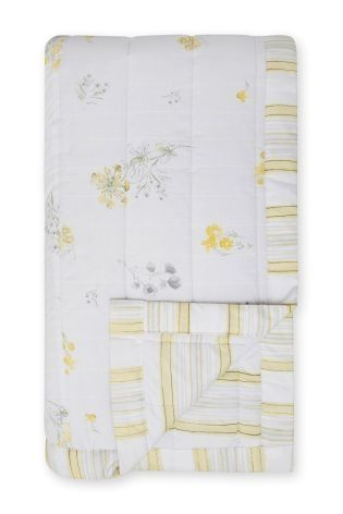 Buy Cotton Rich Printed Reversible Throw from the Next UK online shop