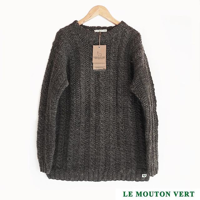 Sweater para hombre / men Modelo: Hermann, cod.1011 Colonos Collection ➖100% exclusive sustainable & organic Merino Wool Disponible / Available  +Info: Direct o mail: contact@lemoutonvert.org Shop Online:  www.lemoutonvert.org //