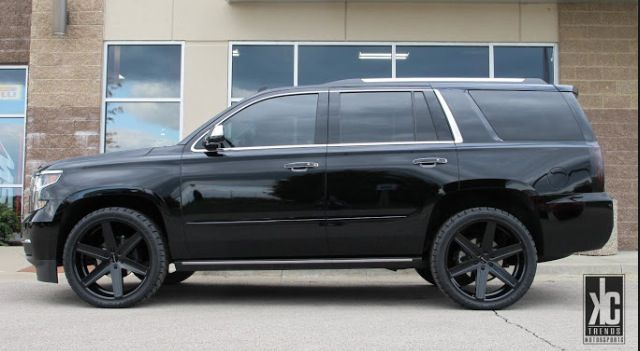 2015 Tahoe Black On Black Starting To Really Like These