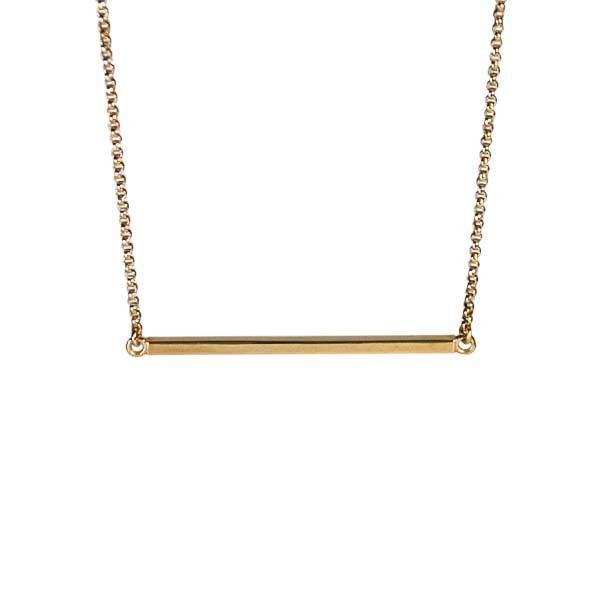 Horizon Necklace / Gold