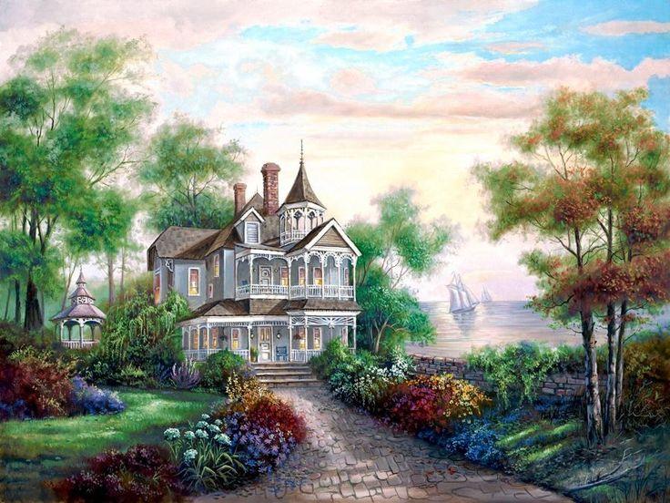 Sentimental Victorian Home Art Carl Valente Pinterest