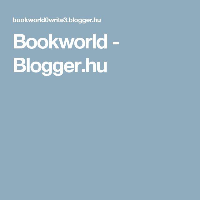 Bookworld - Blogger.hu