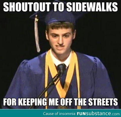 Graduation speech...