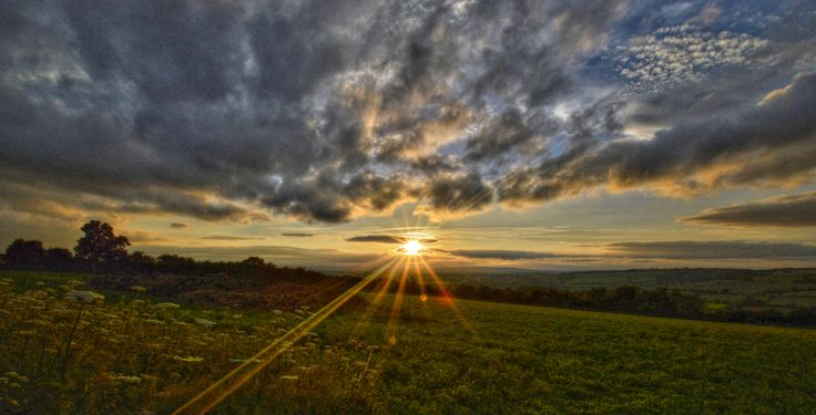 Cotswold Sunsets , Oxfordshire, England