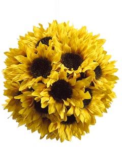 Sunflower pomander