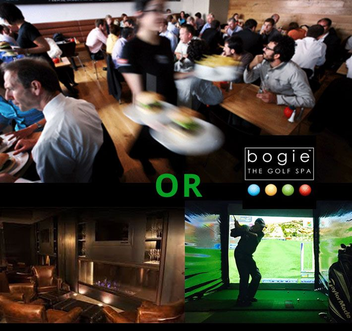 I just hate having meetings in crowded noisy restaurants, where you can't hear each other talk! TRY SOMETHING NEW! LOOKING FOR A MORE PRIVATE PLACE TO HOLD YOUR MEETINGS? Why not book a session in our private VR Golf Studio & Lounge. The prefect place to have that private meeting in comfort while playing a round of golf on any course in the world you desire! JUST CLICK THIS IMAGE TO FIND OUT MORE AND BOOK  http://bogie.co.za/2016/12/20/take-your-business-meetings-in-style/