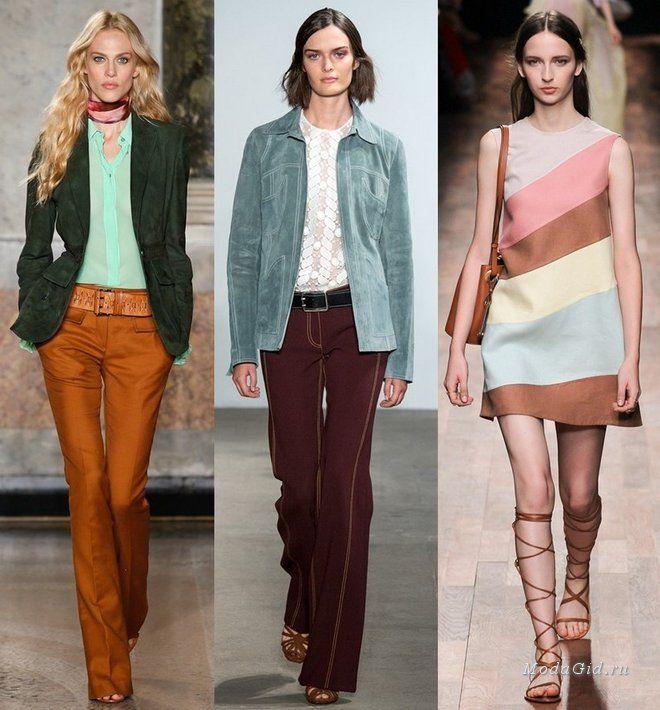 Мода и стиль: Современные модные образы, вдохновленные стилем it-girls 70-х годов