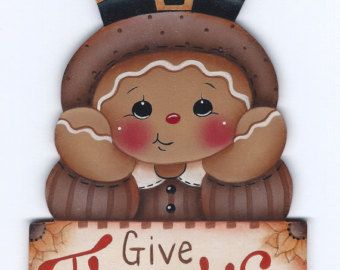 Let it Snow Snow Globe Gingerbread Painting por GingerbreadCuties