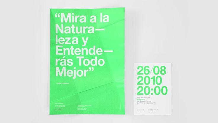 We Love Invitations. El Vivero. Design by www.anagrama.com