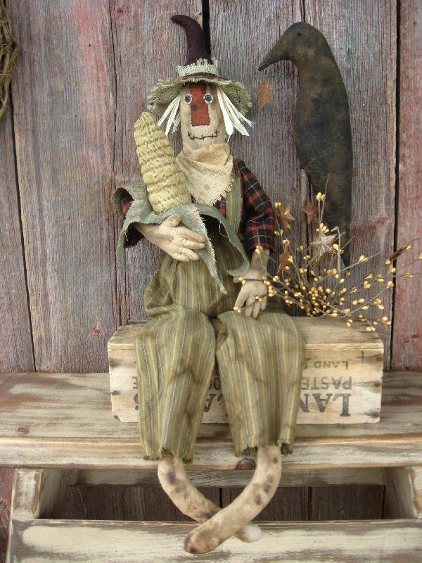 Chester Scarecrow Instant Download Epattern