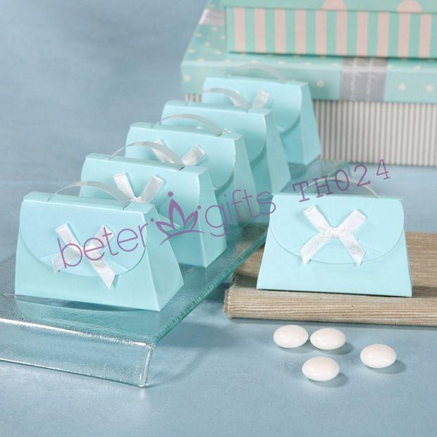Tiffany Blue Bridal Shower Decoration BETER-TH024 Wedding Favor Boxes    #weddingfavorbox #candybox #weddinginspirations