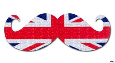 moustache drapeau anglais moustache londres tons et swag
