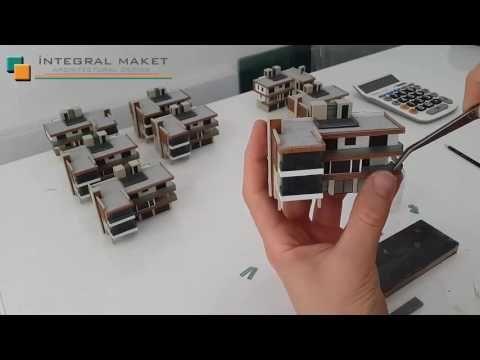 Mimari Maket Nasıl Yapılır ? - YouTube