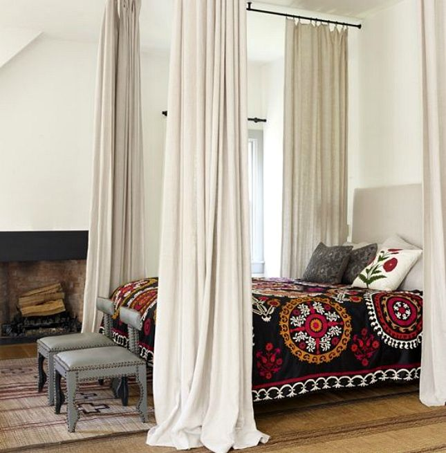 11 Gorgeous Celebrity Bedrooms to Envy via Brit + Co.
