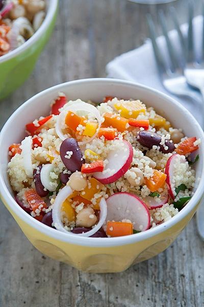Ricetta Couscous estivo con peperoni e altre verdure - Labna