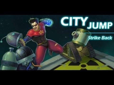 Evidence Android Apps Run Perfectly on BB 10: Check out City Jump Strike Back on the Z10