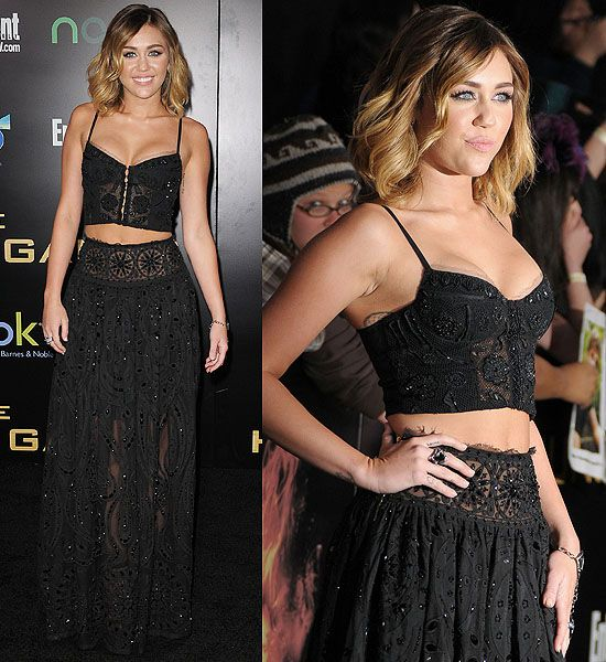 The 5 Most Marvelous Miley Cyrus' Dress Moments of 2012