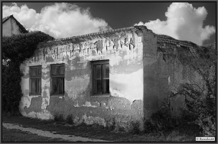 Verfallenes Haus.