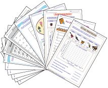 Second grade bar-graph and pictograph worksheets