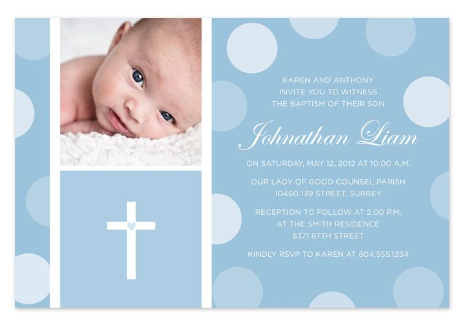 baptism invitation