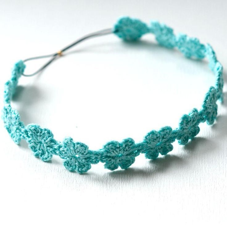 diadema crochet bebe | 10 Lovely Daisy Accessories Must See | Fashion Beads and Accessories