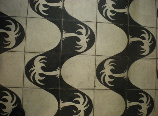 Tiled, not carpeted. Hoping I can visit this one some day. Sao Paulo (GRU)