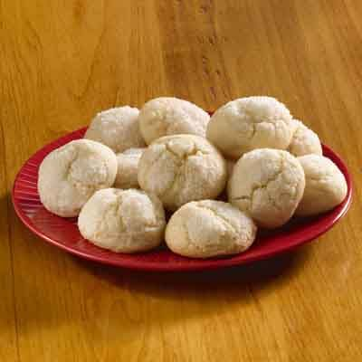 A simple butter cookie recipe with a sweet crunch on top, these butter cookies are sure to please.