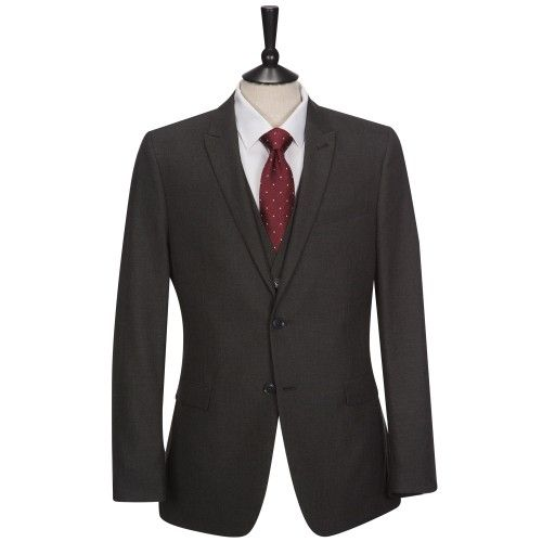 FELLINI TAILORED Three Piece Charcoal Grey Suit £85.00