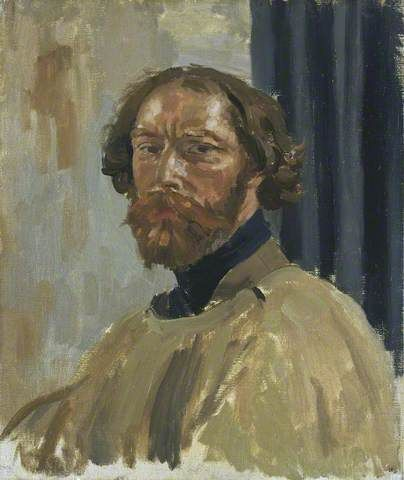 Your Paintings - Augustus Edwin John paintings Self portrait. Welsh artist born in Tenby in 1878