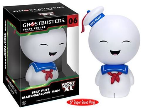 """GHOSTBUSTERS Stay Puft  6"""", Dorbz XL"""