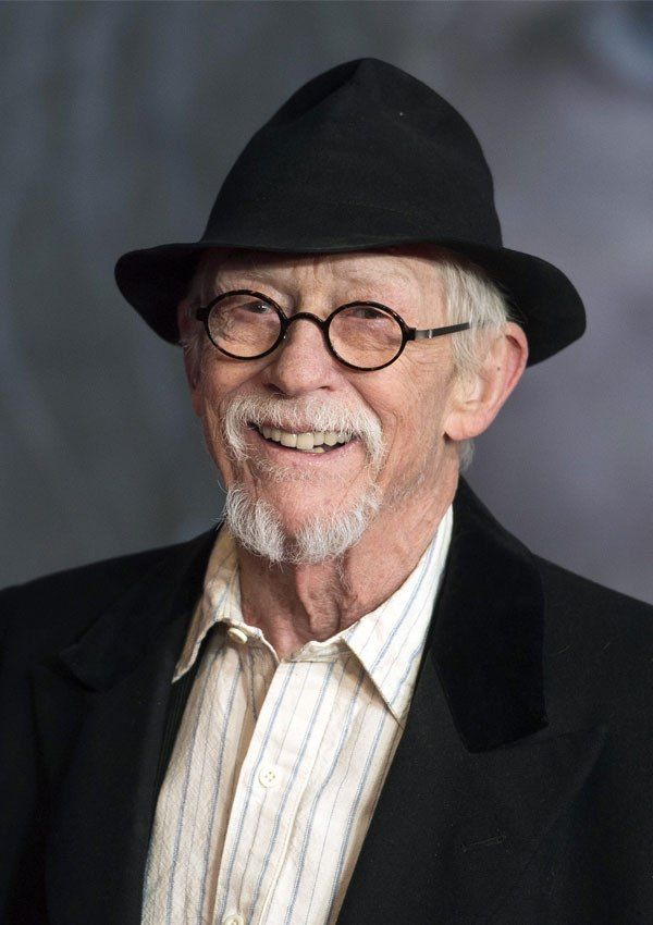 Actor John Hurt died at the age of 77 on January 25, 2017 from pancreatic cancer. Among other iconic roles, he played Mr. Ollivander in the Harry Potter films. (REX/Shutterstock)